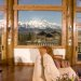 Spring Creek Ranch & Spa - A luxury resort 1,000 ft above Jackson Hole, Wy. Views overlook the Jackson Hole Valley and across to the Tetons. Minutes from town of Jackson. Fireplace cabins & hot tub.