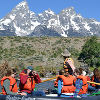 Barker-Ewing Float Trips in Grand Teton Nat'l Park - The original 10-mile scenic float trip in Grand Teton National Park. Providing the best scenic and wildlife viewing opportunities.