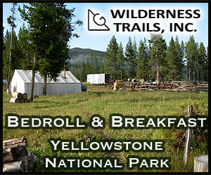 Wilderness Trails - Offering half-and full-day rides, as well as the Bedroll & Breakfast, a one-night stay under the stars with campfire breakfast, in the Teton National Forest, which is a piece of land with stunning views, right between Grand Teton National Park and Yellowstone National Park.