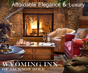 Wyoming Inn - highly rated in TripAdvisor - Well-appointed B&B rooms just 10 minutes to Grand Teton Park, 60 to Yellowstone w/excellent amenities and made-to-order breakfast. Business, Ski & winter packages too.