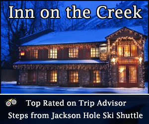 Inn on the Creek - Top Rated on TripAdvisor - Nestled on Flat Creek, yet steps from Jackson Town Square and the Ski Shuttle, the Inn is renowned for its picturesque setting, impeccable service and affordable luxury.