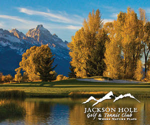 Jackson Hole Golf and Tennis - Public Welcome. Challenge yourself on this Robert Trent Jones, Jr. course featuring dramatic Teton views, local wildlife, full service pro shop, & dining at the North Grille.