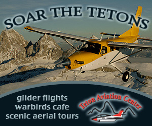 Teton Aviation Center - Scenic Flight Tours - Take a break from skiing & see the Tetons from the sky! Cold winter days offer smooth air and spectacular vistas. Our airplanes comfortably accommodate up to seven passengers.