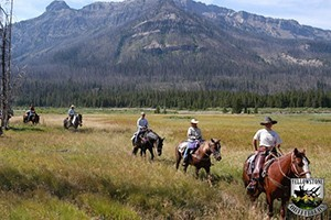 Teton Village Trail Rides :: Horseback Riding in Jackson Hole. 1, 2, & 4 hour trail rides located at Teton Village. Our rides are on the historic Snake River Ranch, with spectacular beauty & wildlife!
