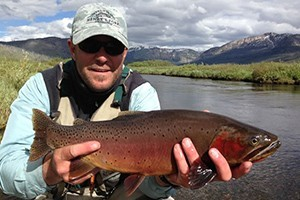 Yellowstone Outfitters - famous large cutthroats