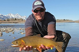 Reel Deal Anglers :: Professionally guided fishing trips set in the heart of Jackson Hole! Catch native Cutthroat trout while taking in the amazing scenery. Full & half day trips. Book today!