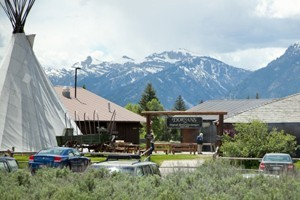 Dornan's Resort - Grand Teton National Park :: Full service resort with cabin rentals nestled beneath the Tetons in Grand Teton National Park. Resort includes sports shop, restaurant, wine cellar, full grocery and deli.