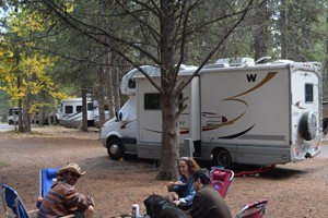 Colter Bay Village RV and Campground :: The ultimate experience!  Whether by tent, RV or sleeping under the stars, enjoy Teton sunsets on the shores of Jackson Lake.