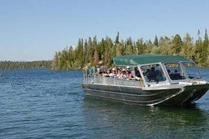 Jenny Lake Boat Tours - Grand Teton National Park :: Scenic boat tours on one of America's most beautiful lakes, situated at the base of the Tetons. Families & Groups welcome, a must do when visiting Grand Teton National Park!
