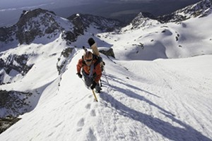Exum Mountain Guides - Guided Winter Trips :: In the winter months we offer the best of guided Backcountry Skiing, Ski Mountaineering, Ski & Snowboard camps, & Ice Climbing, & Winter Climbing/Instruction in the Tetons!