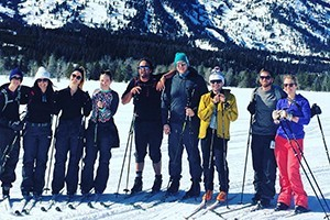 Hole Hiking Experience - Cross Country Skiing :: Naturalist guided cross country skiing tours in Grand Teton National Park or the surrounding National Forest. Bottled water, snacks, & transportation included.