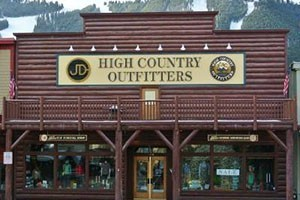 JD High Country Outfitters :: Premier outfitter for over 40 years, located on the Town Square in Jackson! Everything you need to get outdoors - Fishing, Hunting, Hiking, Backpacking, Skiing, & more!