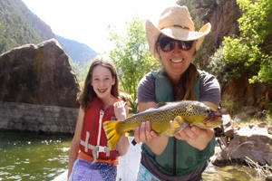 Jackson Hole Anglers - happy faces all around
