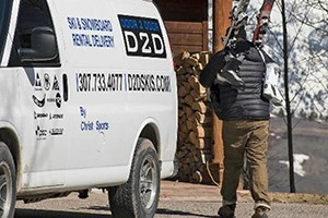 Door 2 Door Ski Rental Delivery : Jackson Hole's premier ski/snowboard delivery service! Skis and Snowboards by - Volkl, K2, Rossignol, Armada, Blizzard, Dynastar, Nordica, Atomic, Never Summer, & Lib Tech.