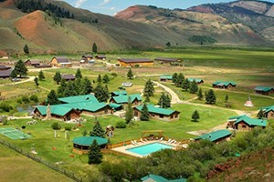 The Red Rock Ranch - Book Now For Summer 20167 :: True Western Dude Ranch! Private log cabins, exceptional cuisine, horseback riding, kids programs, & private fly fishing make for a unique Jackson Hole dude ranch experience!