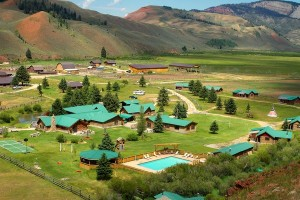 The Red Rock Ranch - Book Now For Summer 2017 :: True Western Dude Ranch! Private log cabins, exceptional cuisine, horseback riding, kids programs, & private fly fishing make for a unique Jackson Hole dude ranch experience!