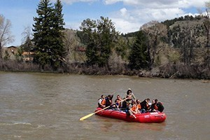 Dornan's Grand Teton Scenic Float Trips :: Peaceful, serene trip where interpretation of Grand Teton National Park & wildlife viewing are the emphasis. Our highly trained guides will deliver a fun & unforgettable trip!
