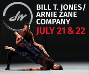 Bill T. Jones brings World Premiere to Jackson  : Dancers' Workshop presents MacArthur Genius Award & National Medal of Arts recipient Bill T. Jones and company for the World Premiere of Analogy/Ambros: The Emigrant, July 21-22. Jones' explores how text, storytelling and movement pull and push against each other in this evocative narrative.