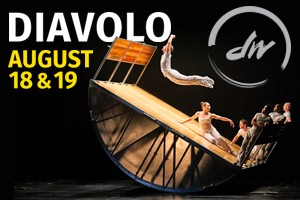 """DIAVOLO as seen on """"America's Got Talent""""  :: Dancers' Workshop presents the awe-inspiring DIAVOLO   Architecture in Motion®, a finalist on NBC's """"America's Got Talent"""" right here in Jackson Hole this weekend, August 18 &"""