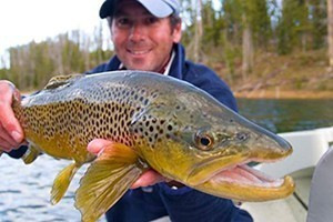 Grand Teton Fly Fishing :: Premier guide service for over 40 years! Most area rivers are blown out with runoff - We are offering spectacular fishing on The Firehole River & Lewis Lake in Yellowstone NP!
