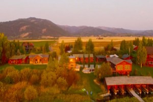 Teton Valley Lodge :: All Inclusive fishing lodge on the banks of the Teton River. Cabin accommodations, exceptional dining, and professionally guided fly fishing trips. Outfitting since 1919!