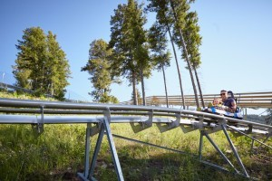 Snow King Mountain :: Look no further for the very best family activities in Jackson Hole! Cowboy Coaster, Treetop Adventure Course, Alpine Slide, Mini Golf, Bungee Trampoline, & so much more!