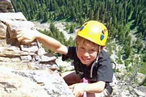 "Exum Mountain Guides - family climbing day : Exum's ""Family Day"" is just that – a day of climbing or instruction customized to make it fun for everyone. Learn basics of gear, terrain, strategy and having fun."
