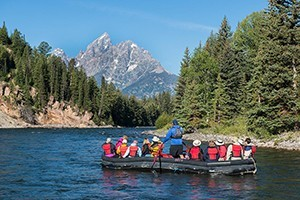 National Park Float Trips - under the Teton Peaks :: For more than 50 years, the Turner Family has safely floated guests down the Snake River, creating lasting memories for generations of families. No better outfitter.