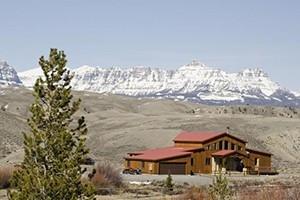 Big Diamond Ranch Cabins - overlooking Wind River