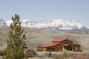 Big Diamond Ranch Homes - overlooking Wind River