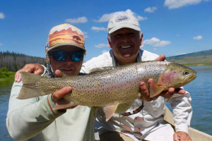 Reel Deal Anglers :: Guided trips on the Green River & Green River Lakes. This river is perfect for a true freestone river experience and holds huge rainbows, browns, and cutthroats.