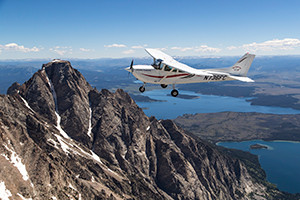 Teton Aviation Center: Scenic Airplane Tours