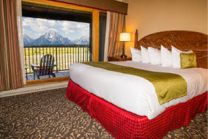 Jackson Lake Lodge - In Grand Teton National Park