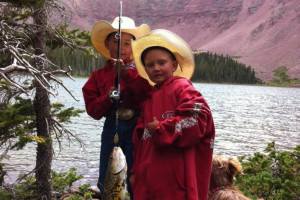 Wildman Adventures - amazing float & pack trips :: Select from guided daily float trips or Multi-Day fishing Pack Trips by horseback into the Wyoming wilderness. Fishing so good, people of all ages come home happy.