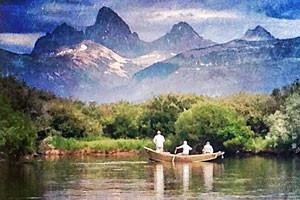 Teton Valley Lodge - on the Teton River