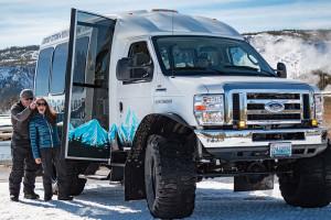 Scenic Safaris Snowcoach Tours in Yellowstone