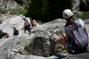 Exum Mountain Guides - family & kid climbing