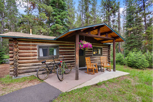 Cabins in Grand Teton National Park