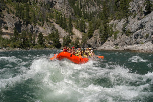 Lewis and Clark Rafting