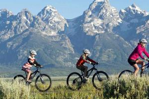 Teton Mountain - rent a bike to climb Snow King