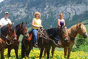 Willow Creek - trail rides, fishing & pack trips
