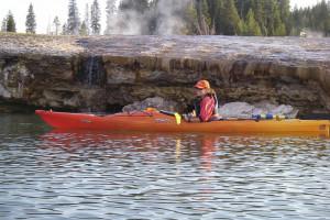Geyser Kayak Tours in Yellowstone