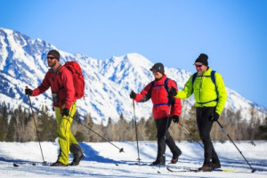 Cross Country Skiing with EcoTour Adventures