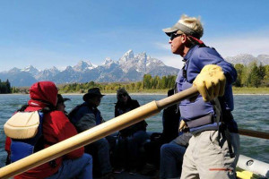 Family Scenic Floats in Teton Park - Solitude