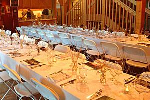 Alpine House | Wedding group intimate location