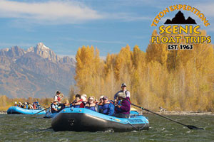 Teton Expeditions Scenic Floats for all ages