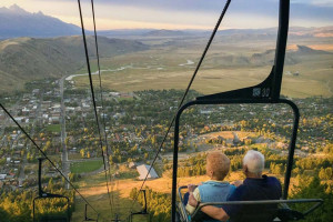 Snow King Mountain - scenic chairlift ride