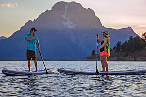 Snow King - Stand-Up Paddle board rentals