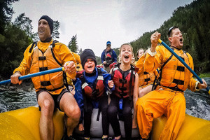 Mad River Boat Trips - kids love our staff