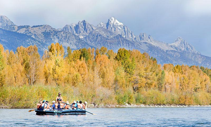 Jackson Hole Wyoming Scenic Float Trips on the Snake River